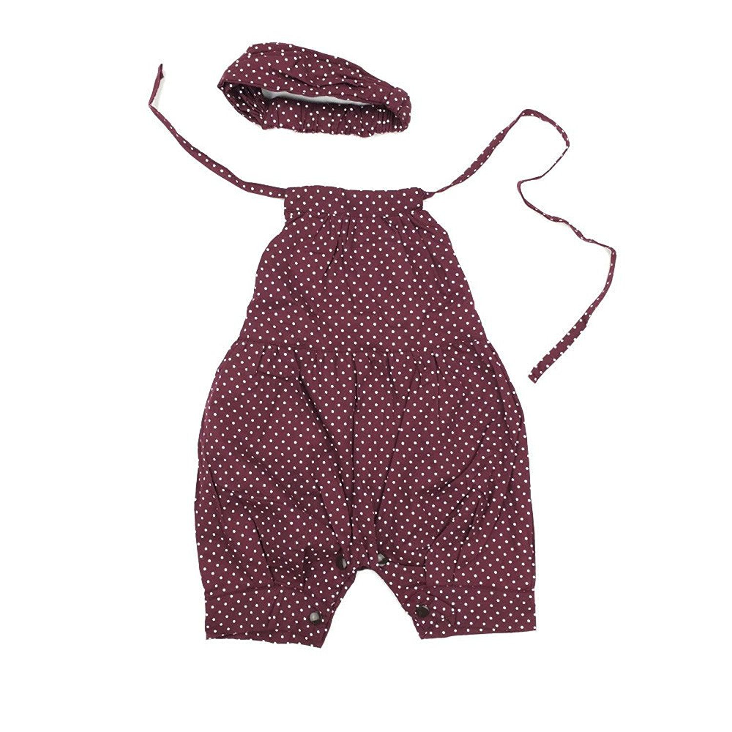 Amazon Com Astoreplus Hottest Baby Girls Dots Romper Harnesses