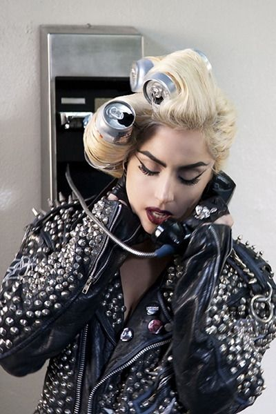8a898a7afb36 pop can punk hair... Gaga. Don t care if you hate her.