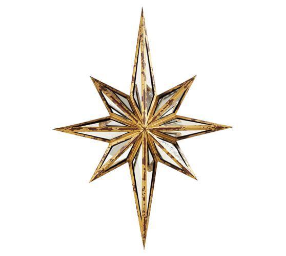 Decorative Star Mirror Gold Sunburst Mirror Sunburst