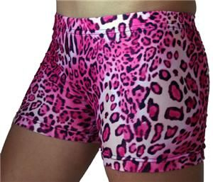 1c3d900a081c Gem Gear Compression Pink Leopard Print Shorts - Yes, I will be needing  these for the Diva 1/2