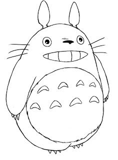How To Draw Totoro | Totoro drawing, Totoro, My neighbor ...