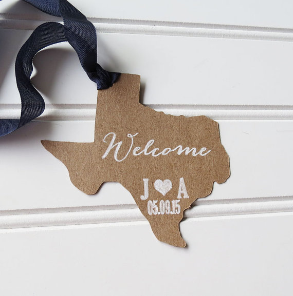 Wedding Decoration Favor Welcome Bag Customize To Your State