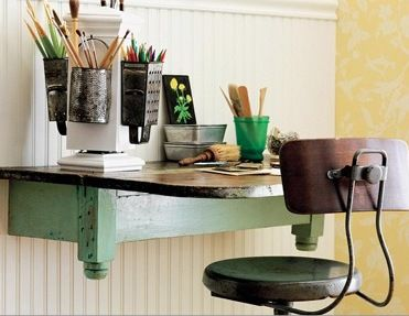 Love this!! Look at those cheese grating pencil holders!!