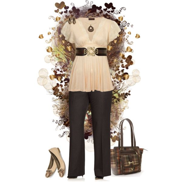 """""""Plus Size Fall Fashion"""" by elise1114 on Polyvore"""