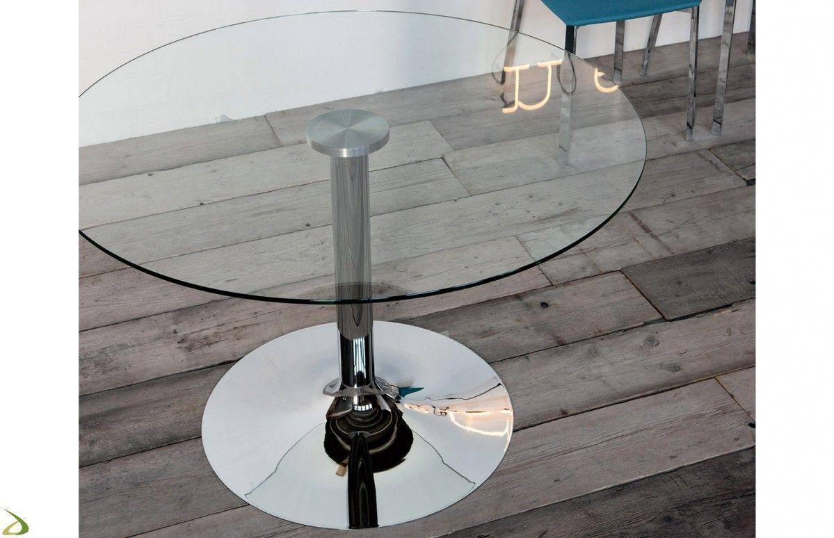 Tavolo moderno rotondo ottone arredo design online soggiorni