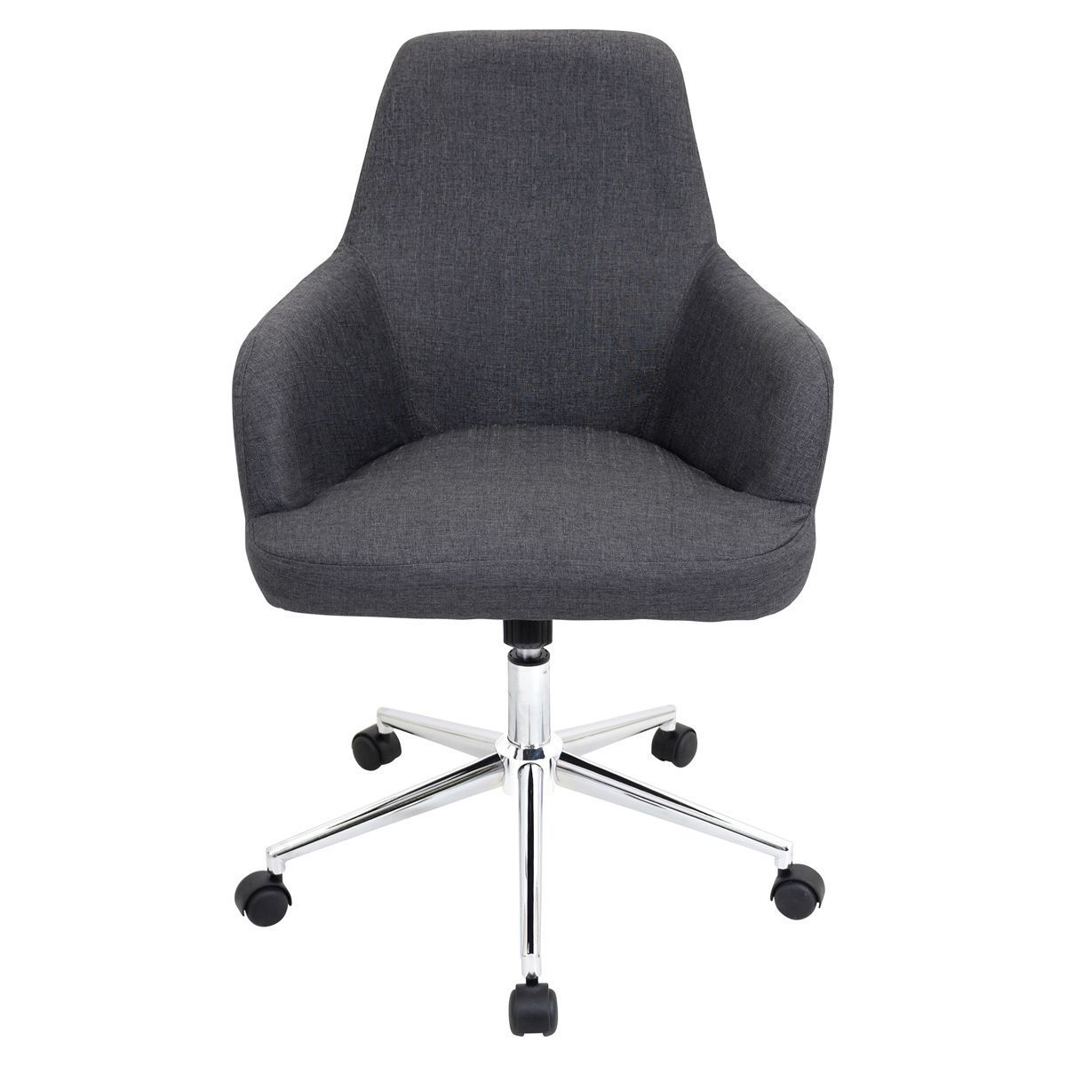 Lumisource Degree Fabric Office Chair Grey