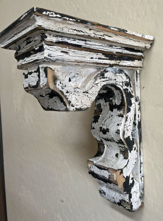 Antique Style Corbel Wooden Corbel French Country Corbel Etsy Wooden Corbels Corbels Vintage Wall Sconces