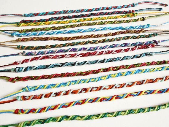 Set Of Friendship Bracelet Stack Anklet Custom Bracelets Stacking