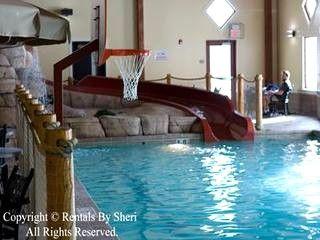 Resort Cottage Skiing Golf Hot Tub Indoor Pool Indoor Pool Wisconsin Dells Spa Pool