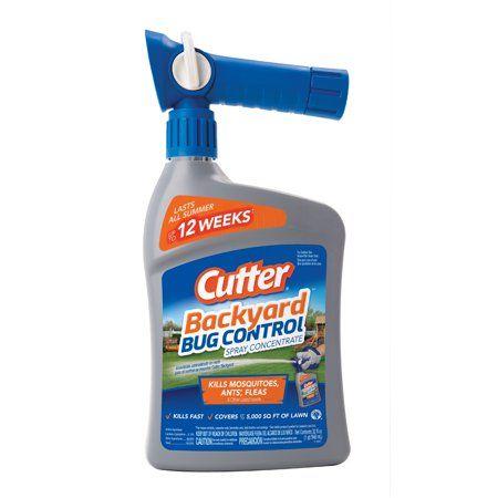 Cutter Backyard Bug Control Spray Concentrate Ready To Spray 32