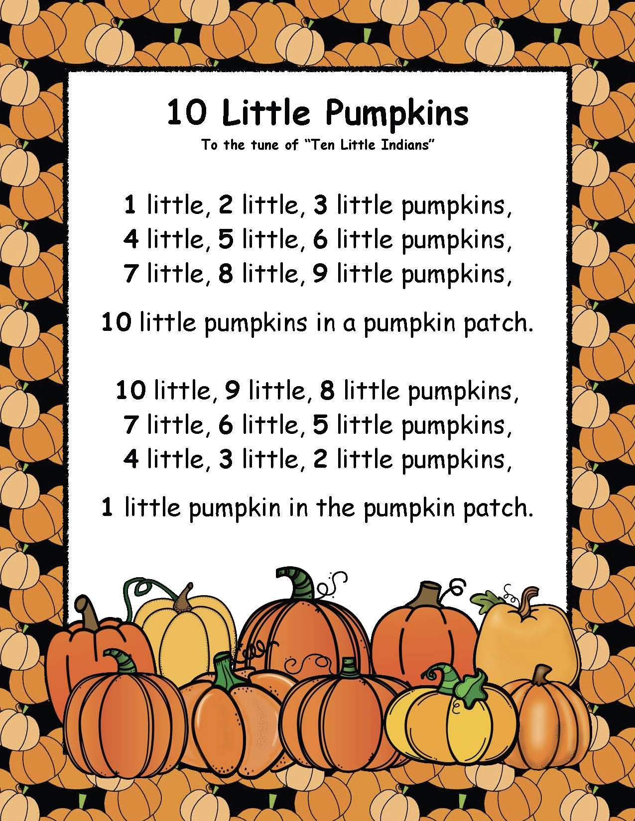 Counting Number Fun With Pumpkins Halloween Preschool Fall Preschool Activities Pumpkin Lessons