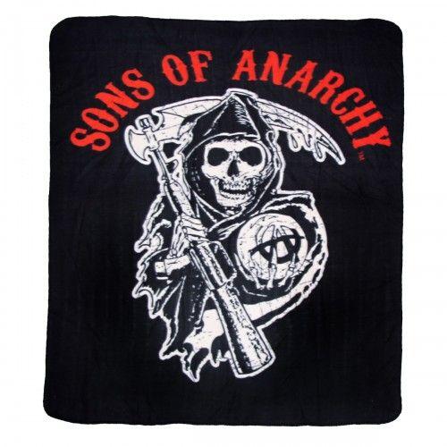 Sons Of Anarchy Reaper Fleece Blanket Soa Sons Of Anarchy Reaper Sons Of Anarchy Sons