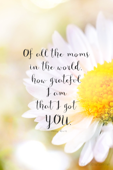 """""""I Got You"""" Print. Add a sweet frame for a personal Mother"""