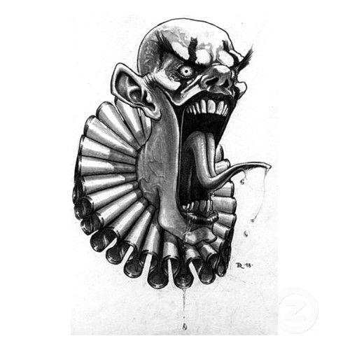 Clown Tattoo, Evil Clowns