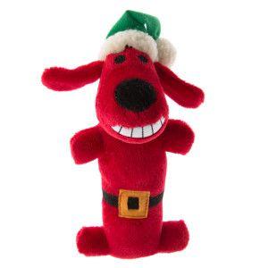 Pet Holiday Bobo Santa Dog Toy Toys Petsmart With Images