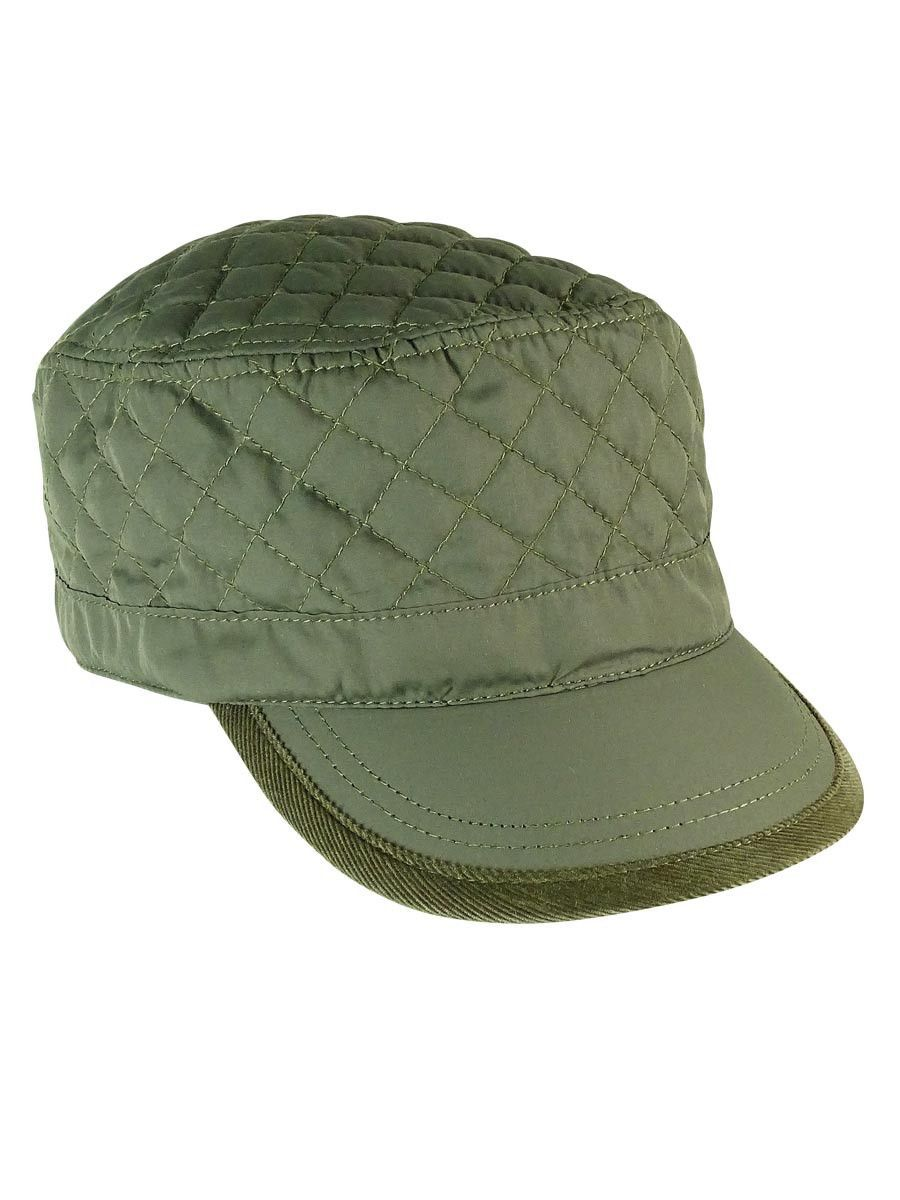 5c37ba64a August Accessories Women's Quirky Quilted Military Cap | RICERCA F/W ...