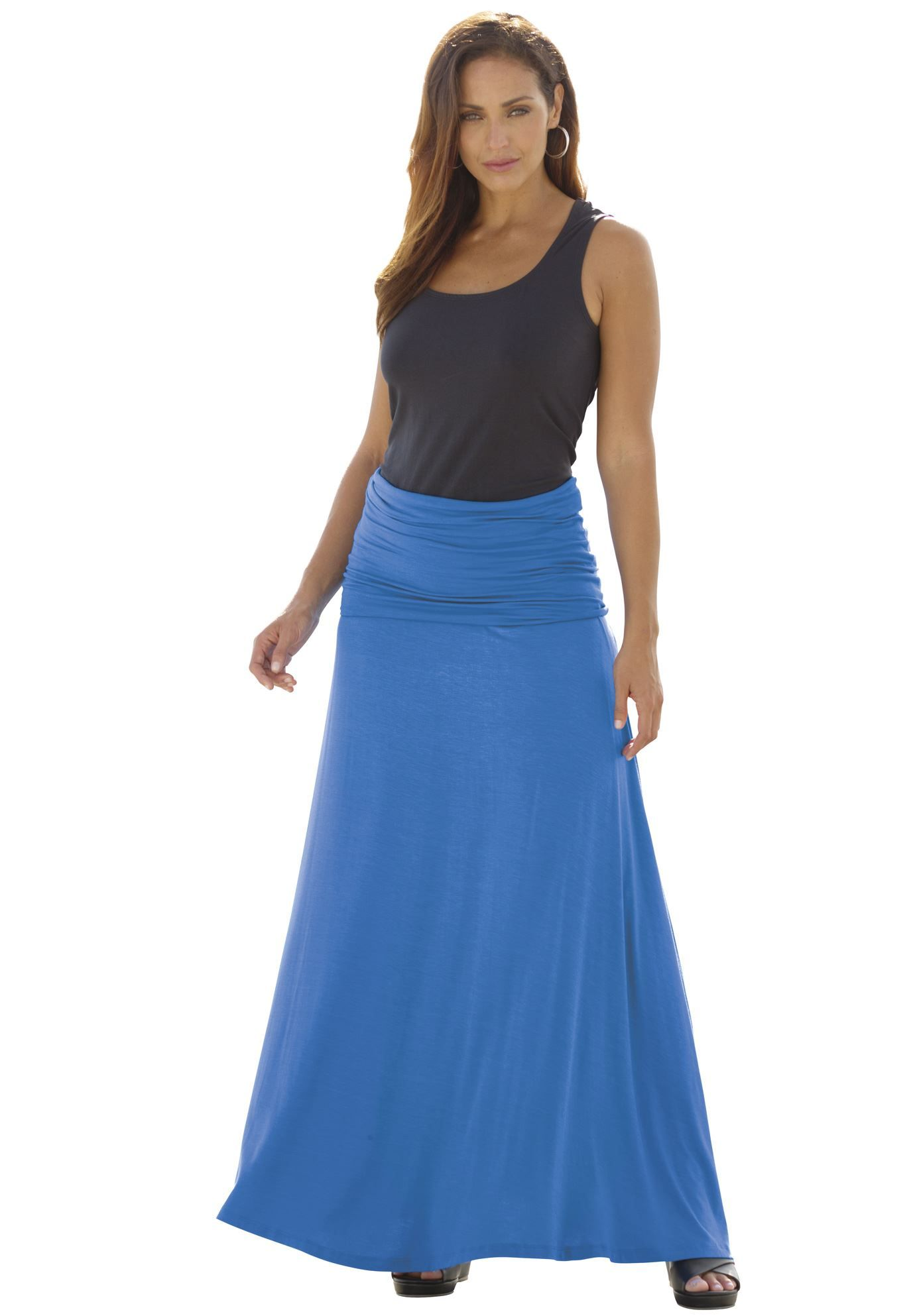 Convertible dress can be worn as a maxi a midi or as a skirt with