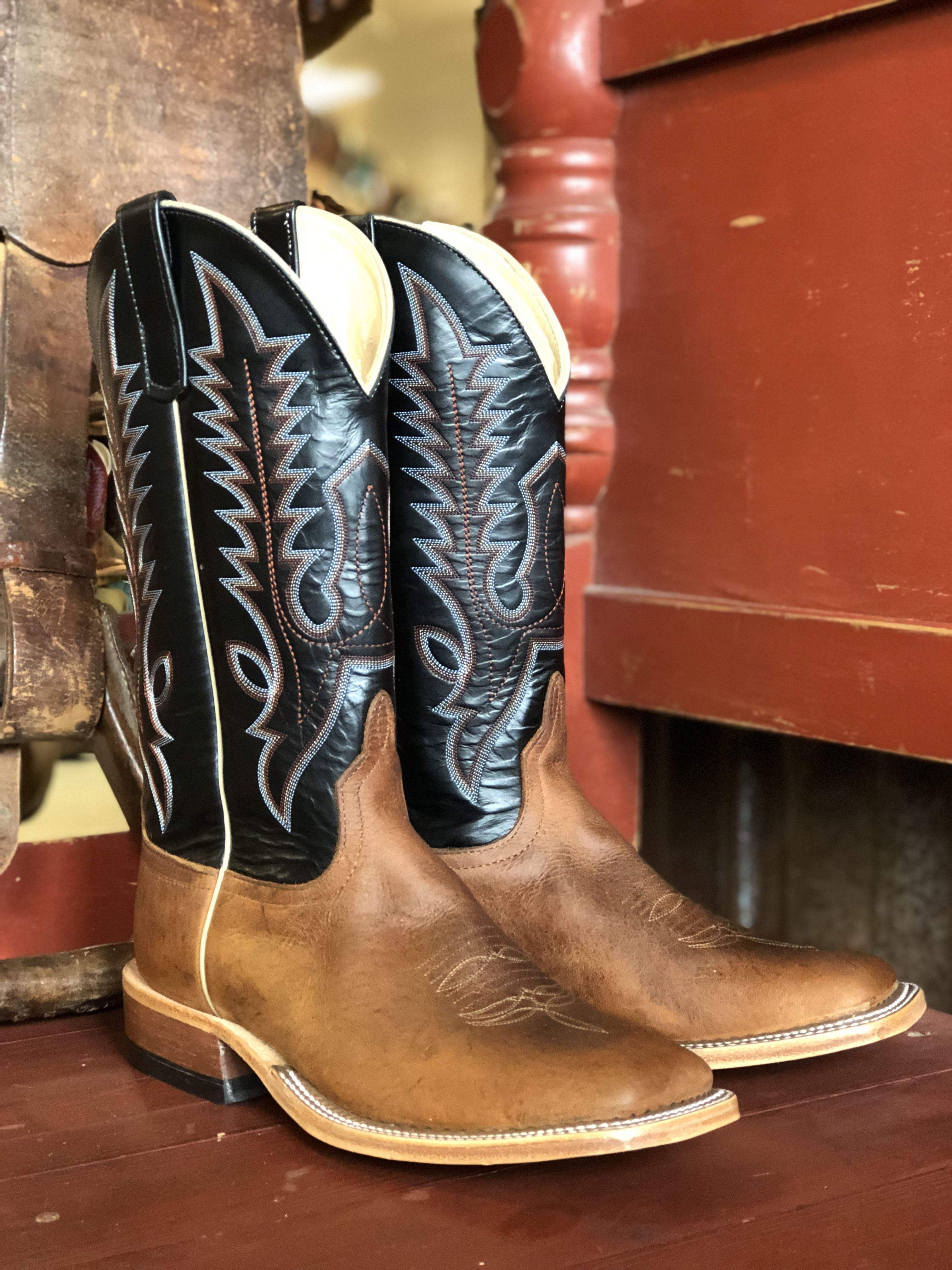 e3ada7ce420 Mens Anderson Bean Black Saddle Elk Butt in 2019 | Cool Boots ...
