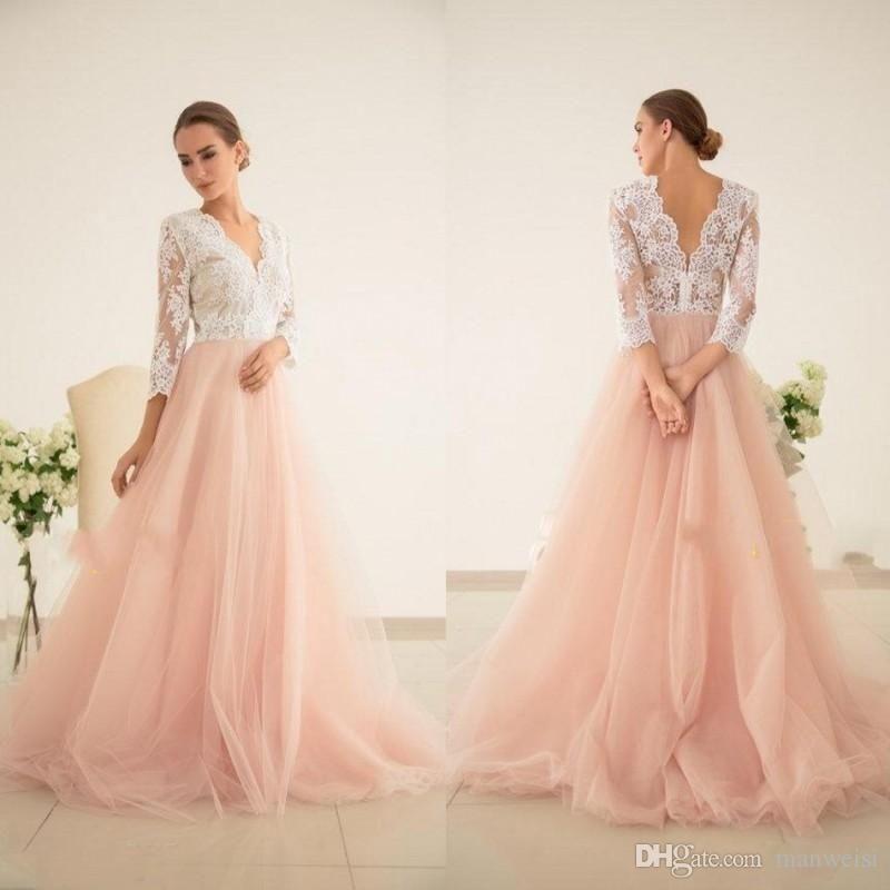 Gorgeous Plus Size Pink Wedding Dresses Ideas In 2020 Pink Wedding Dresses Blush Pink Wedding Dress Curvy Bridesmaid Dresses