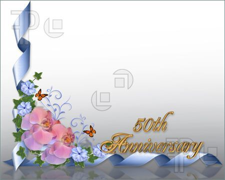 Th wedding anniversary borders free th wedding