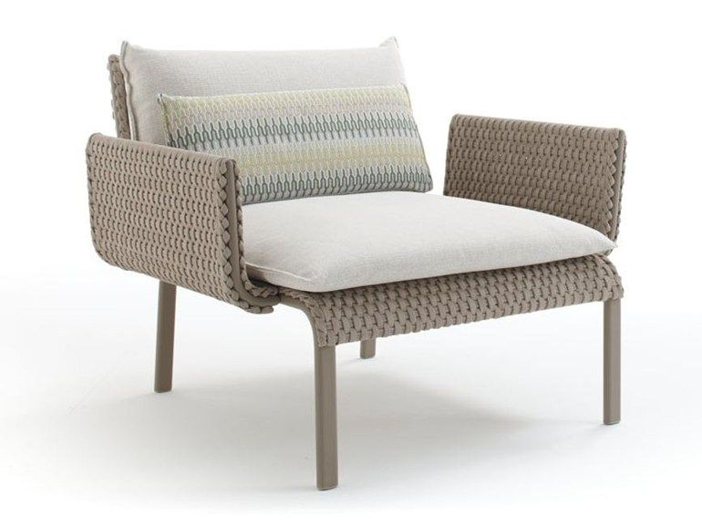 Garden Armchair With Armrests Key West
