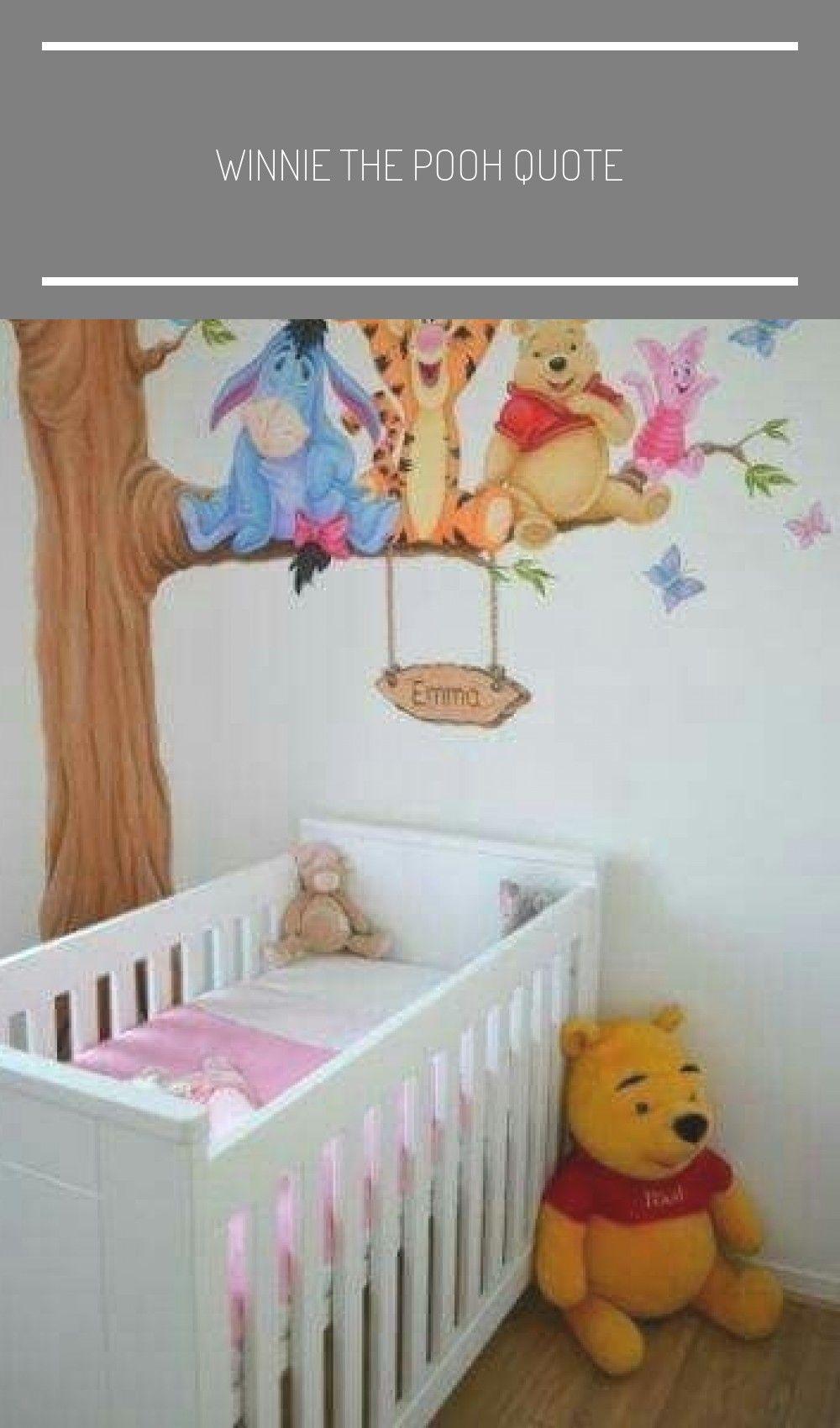 Winnie the Pooh quote in 2020 Kinder zimmer, Babyzimmer