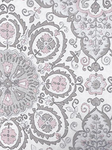 Caro Home Fabric Shower Curtain Pink Medallions Caro Home Http