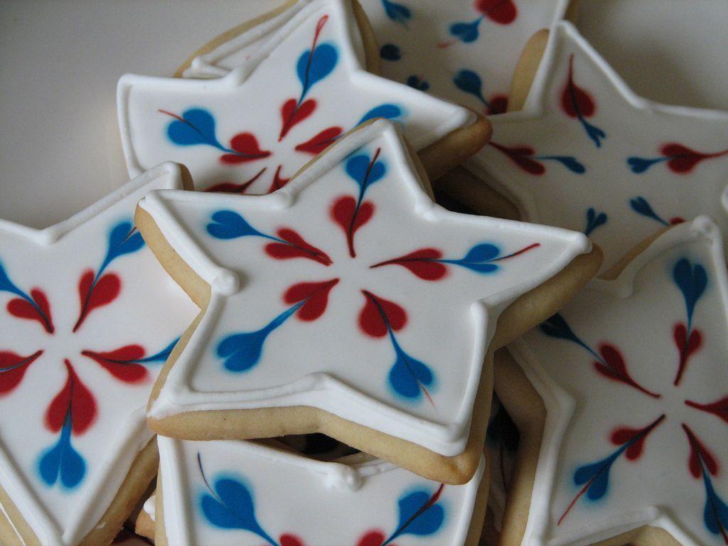 Images of patriotic cookies  PATRIOTIC WEDDING FAVORS WEDDING