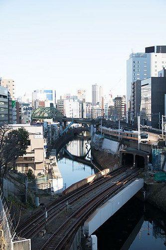 Hijiri Bridge 聖橋 hijiribridge kandariver 神田川 中央本線 jr tokyo