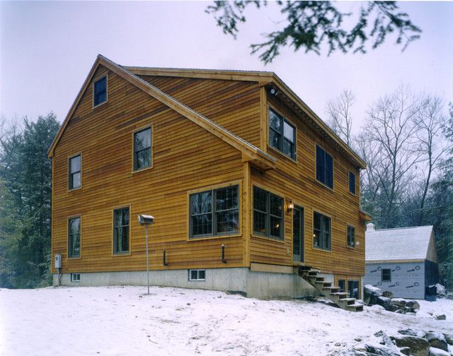 Saltbox Roof Saltbox Houses Traditional Exterior Roof Design