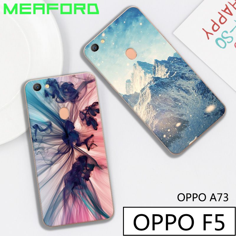5c257491708095 For Oppo F5 Case 6.0'' Back Cover Silicone Cute 3D Cartoon Painted Soft TPU  Phone Case For Oppo F5 Youth A37 A37T Fundas Coque //Price: $640.00 & FREE  ...