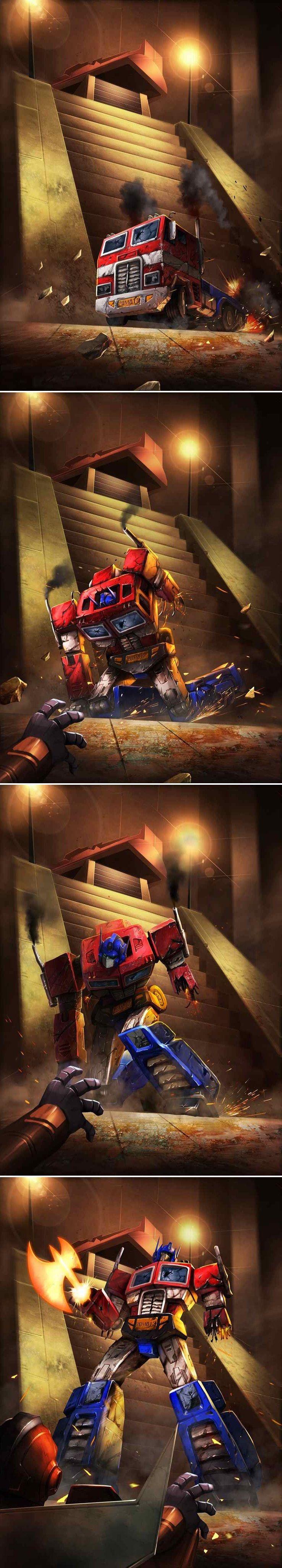 TRANSFORMERS LEGENDS:Optimus Prime