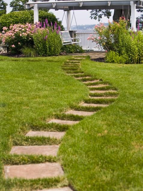 How To Design A Perfect Path | Landscaping Ideas And Hardscape Design | HGTV