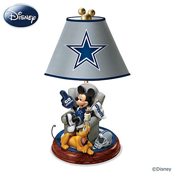 Dallas cowboys game day with mickey mouse lamp must have dallas cowboys game day with mickey mouse lamp aloadofball Gallery