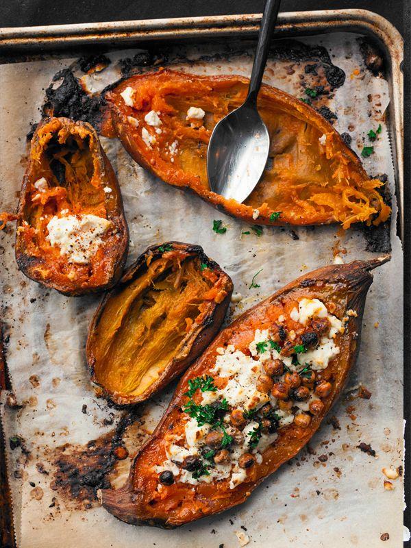 vegetariska recept med sötpotatis
