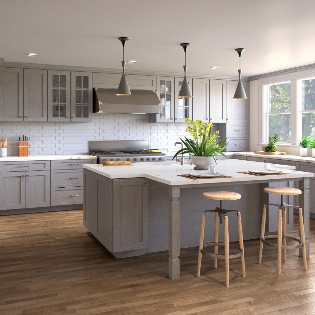 Best Forevermark Cabinets Style Home Art Tile Grey Shaker Kitchen Kitchen Cabinet Styles Shaker Style Kitchen Cabinets
