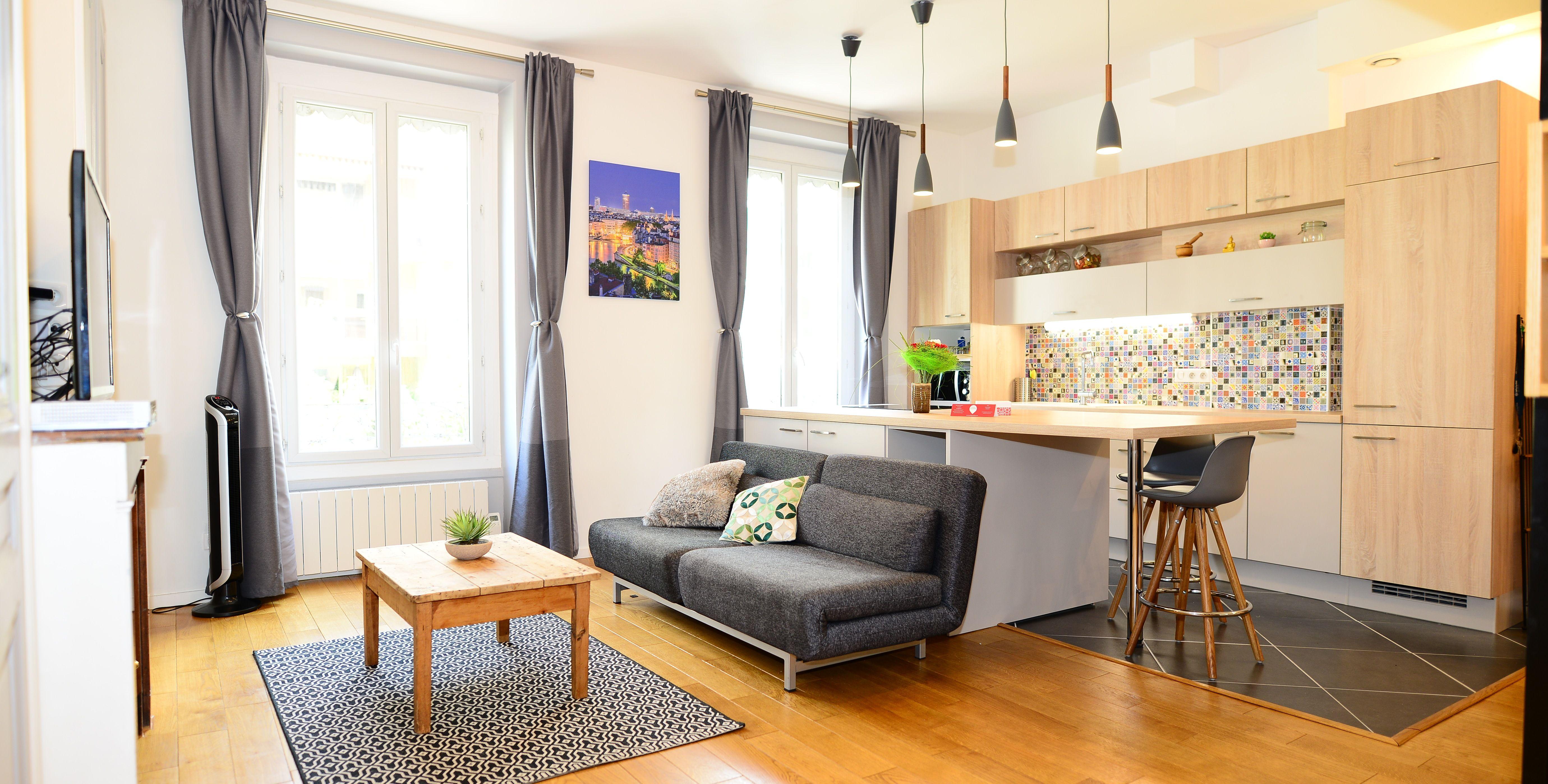 Epingle Par Appart Ambiance Sur Inspirations Interieur Meuble Appartement Location Appartement