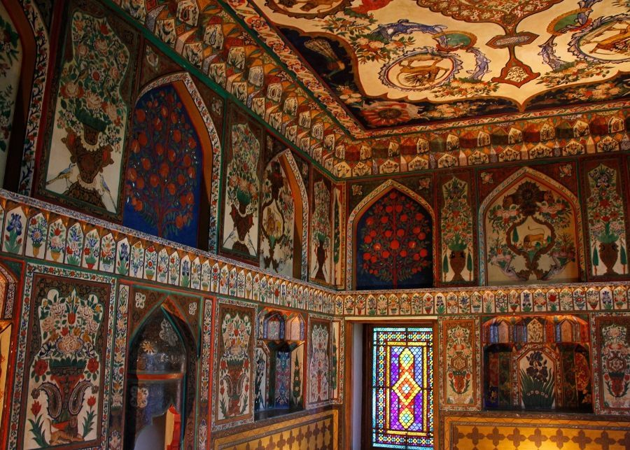 Dvorec Shekinskih Hanov Azerbajdzhan Sheki Kartiny Fotografii Prirody Hudozhestvennye Kartiny
