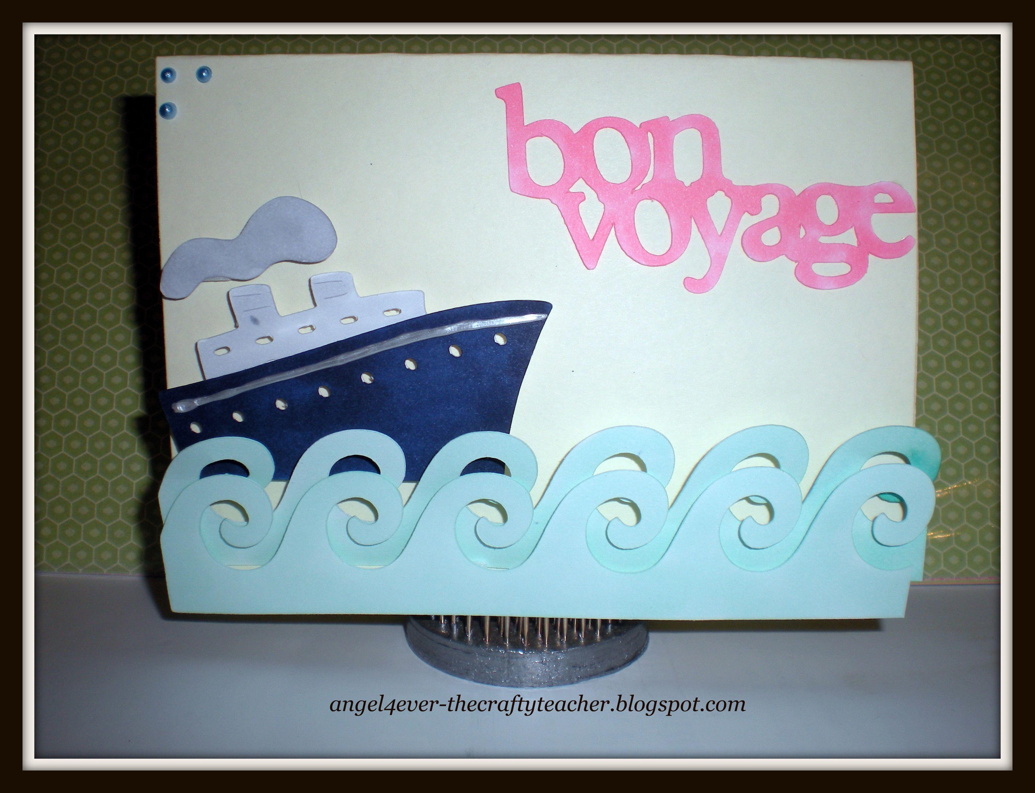 Bon voyage card i made using cricut cartridge life is a beach copic bon voyage card i made using cricut cartridge life is a beach copic markers kristyandbryce Image collections