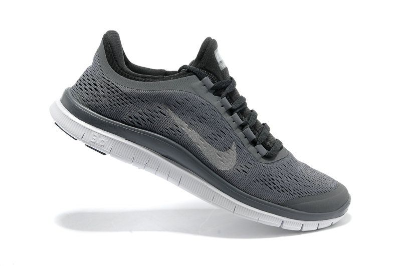 sports shoes 089f0 a0fc9 Nike Free 3.0 V5 Womens New Slate Grey Reflective Silver Anthracite 580393  002