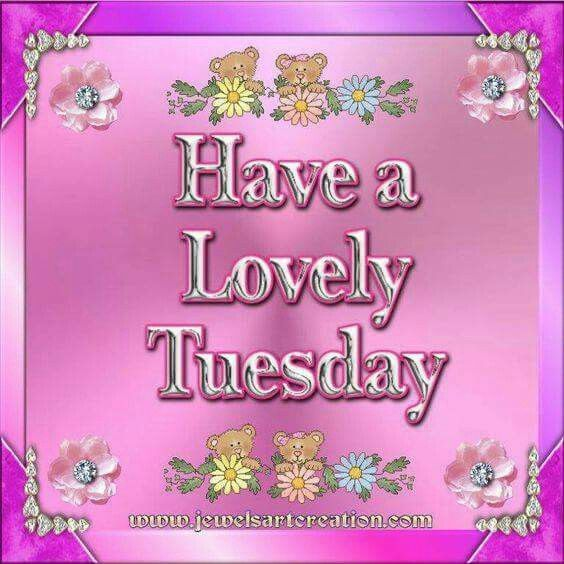 Have A Lovely Tuesday | Good morning tuesday, Tuesday quotes