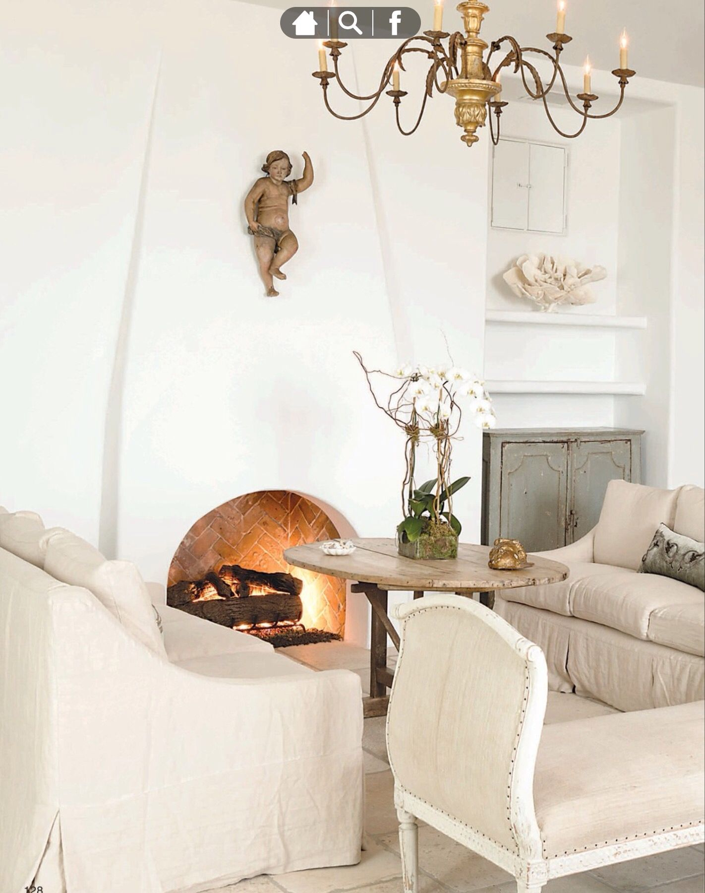 Gorgeous neutral French inspired living room   Interiors   Pinterest ...