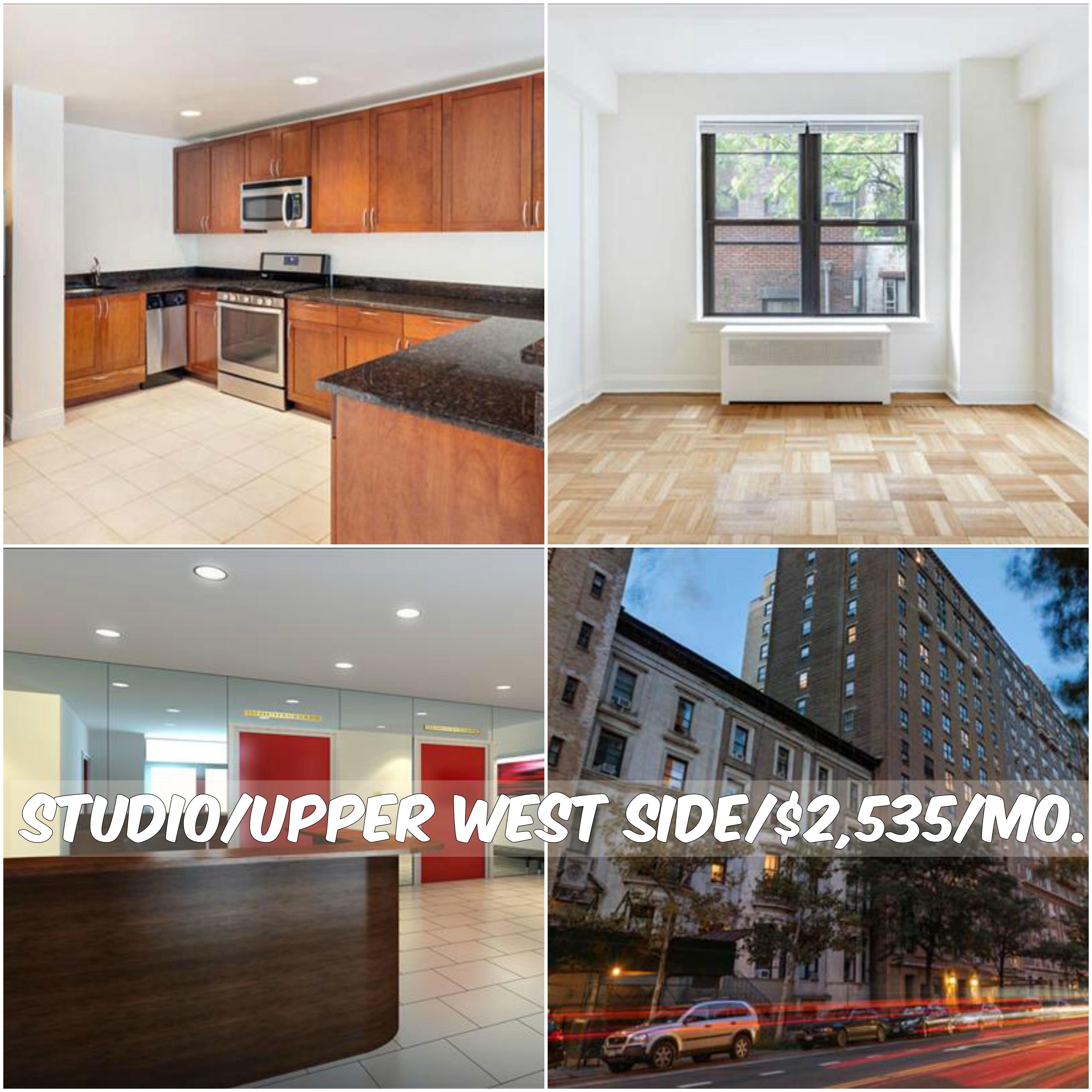 Studio Apt For Rent In Upper West Side At 2 535 Mo Doorman