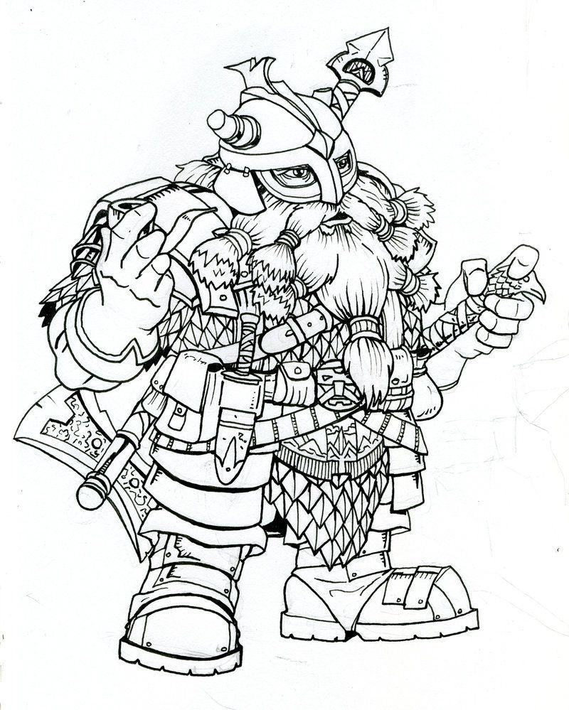dwarf_warrior_on_break__by_dkuang.jpg (JPEG-bilde, 800