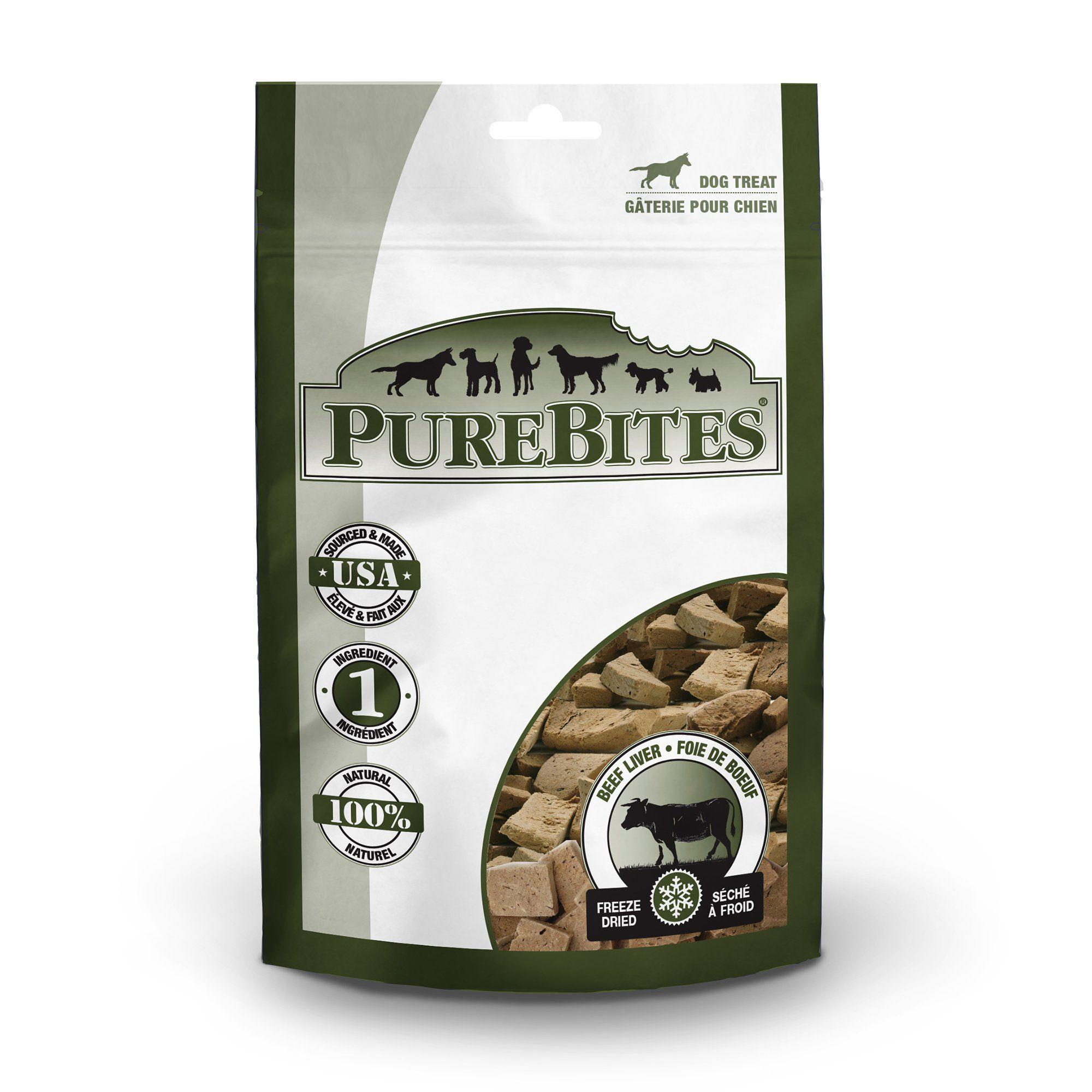 Purebites Beef Liver Value Size Dog Treats 8 8oz 8 8 Oz Liver