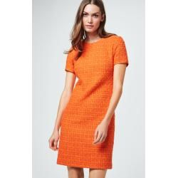 Sheath dress in orange windsorwindsor