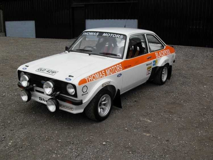 MK2 Escort RS1800 Historic Rally car This car has some