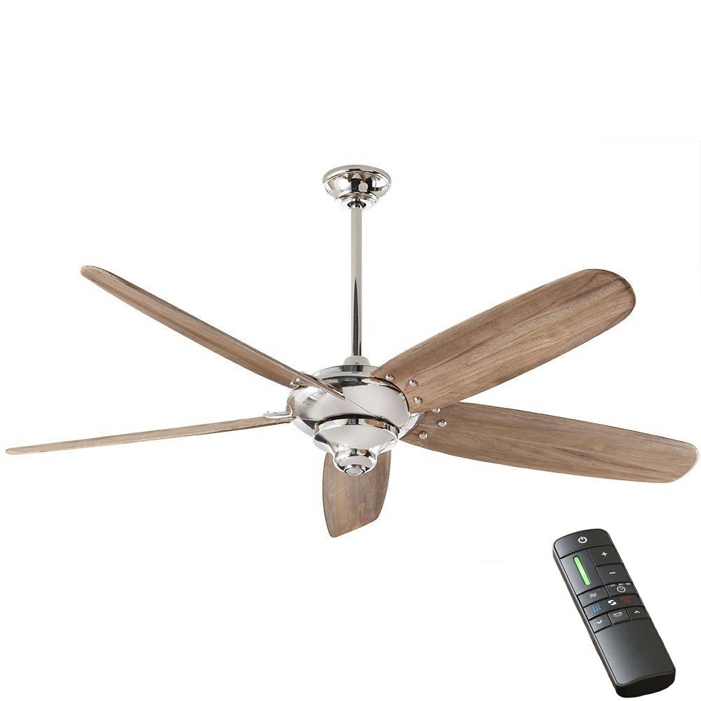 Home Decorators Collection Altura Dc 68 In Indoor Polished Nickel