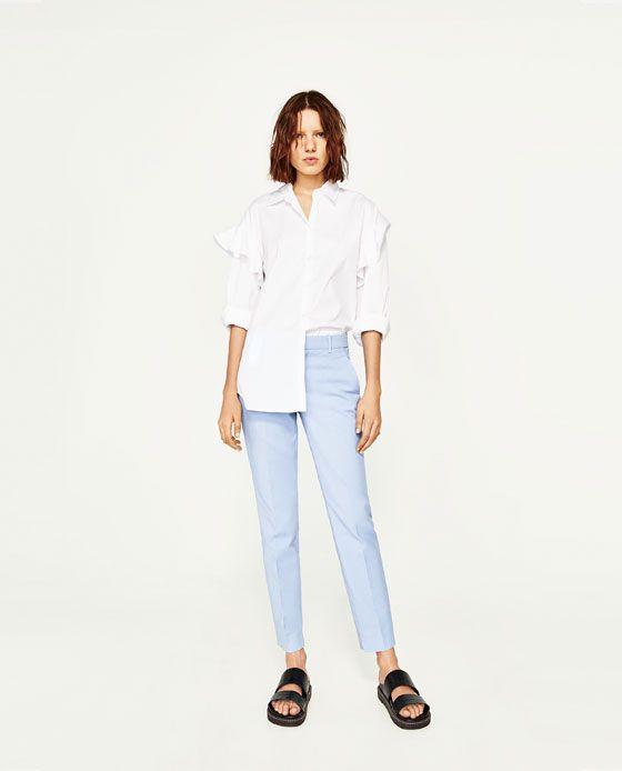 Pantalon Chino Pantalon Chino Zara Femme Et Zara