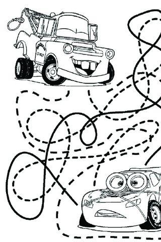 Coloriage Cars Maternelle.Mini Jeux Cars Imprimer